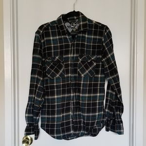 🌞 NSS Men's Plaid Shirt